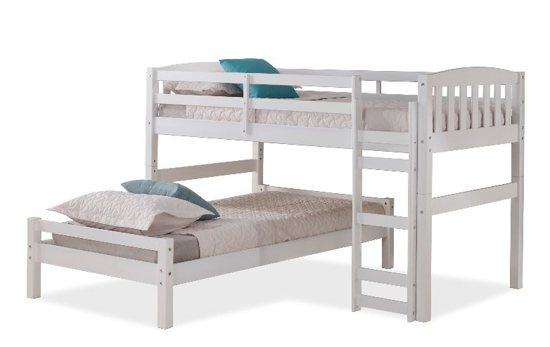 WILER-BUNK-BED Collection -WHITE